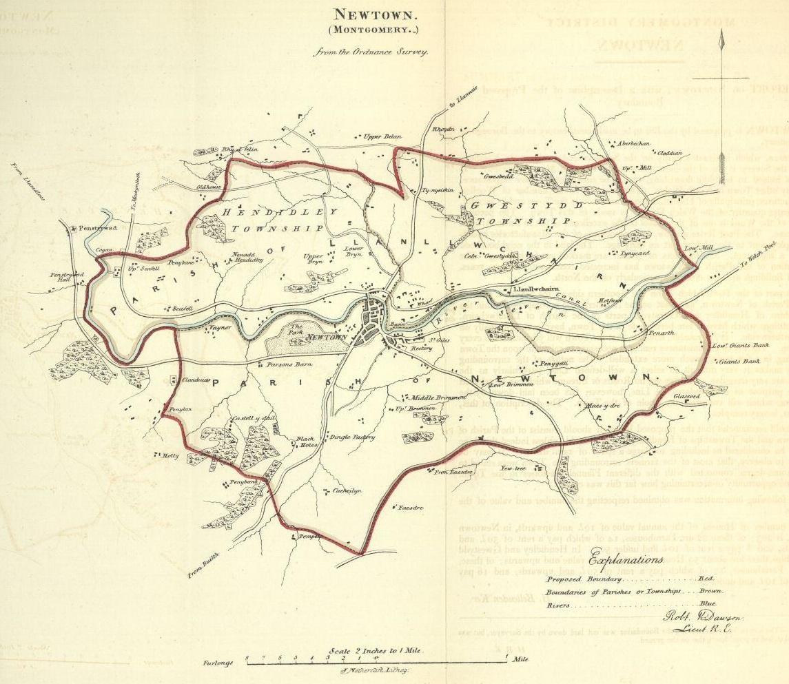 Montgomeryshire Genealogical Society - Newtown