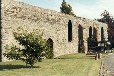 Montgomeryshire Genealogical Society - newtown st mary ruins of 20140214 1387075365