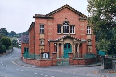 Montgomeryshire Genealogical Society - llanfyllin tabernacl 20140214 1149479725