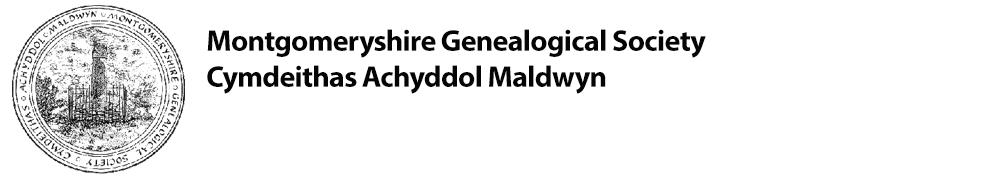 Montgomeryshire Genealogical Society - Cymdeithas Achyddol Maldwyn